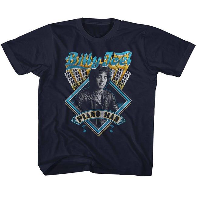 Billy Joel Navy Toddler T-Shirt