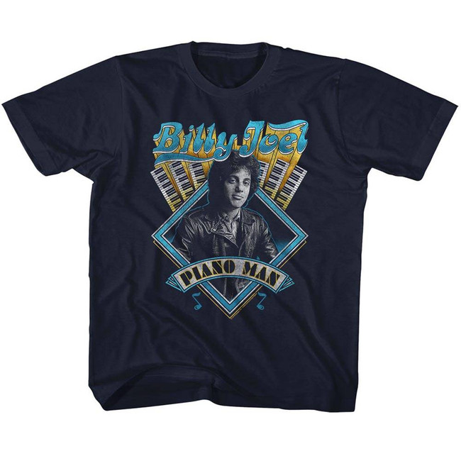 Billy Joel Navy Youth T-Shirt