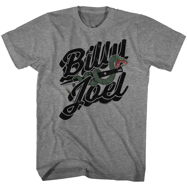 Billy Joel Only The Good Die Young Heather Adult T-Shirt