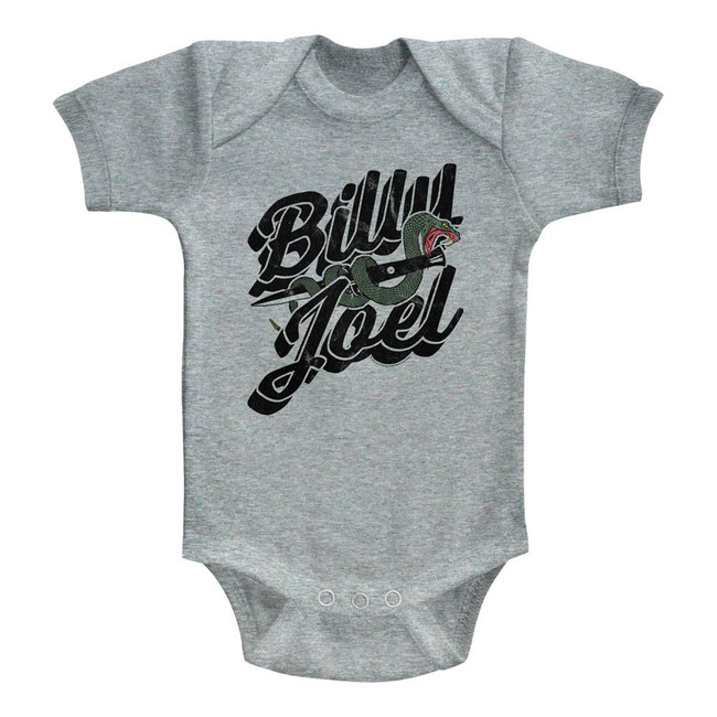 Billy Joel Only The Good Die Young Heather Baby Onesie T-Shirt