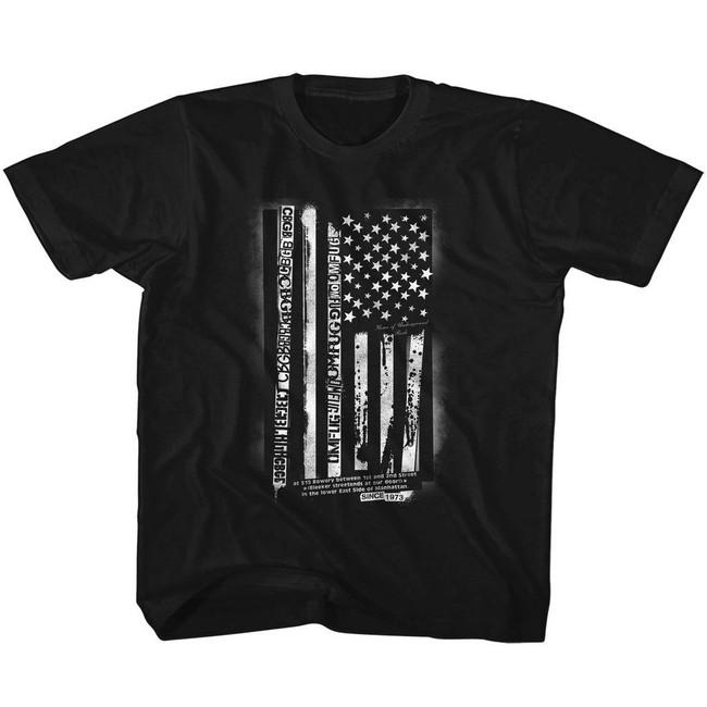 CBGB Flag Black Children's T-Shirt