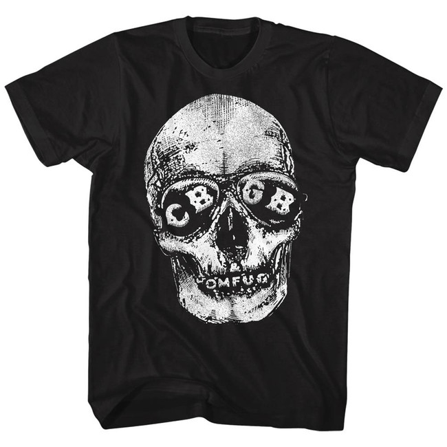 CBGB Skeleton Black Adult T-Shirt