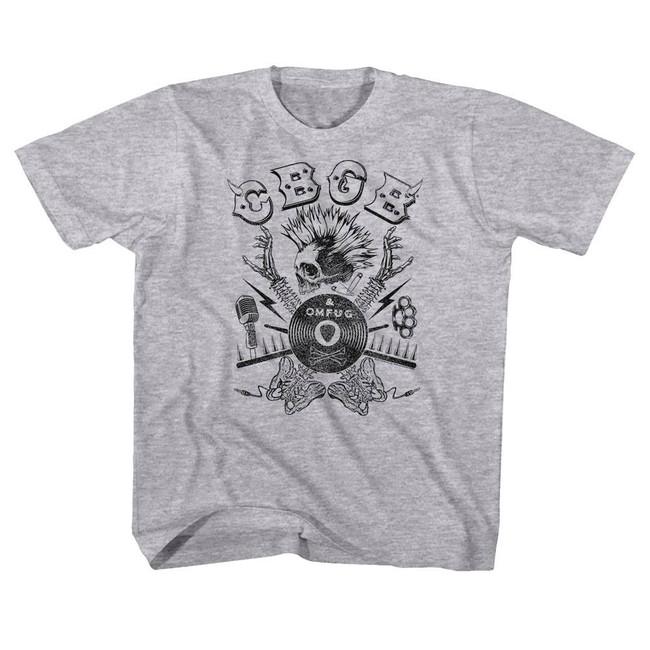 CBGB Heather Children's T-Shirt