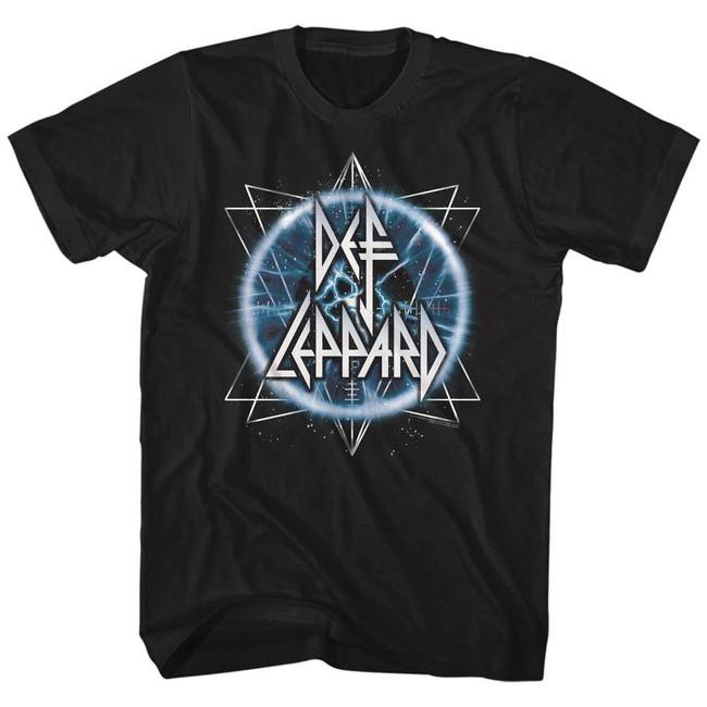 Def Leppard Electric Eye Black Adult T-Shirt
