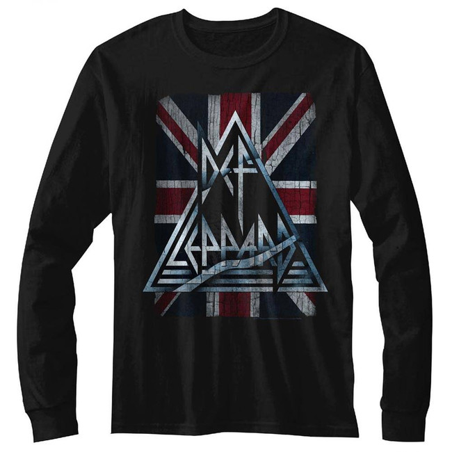 Def Leppard Jacked Up Black Adult T-Shirt