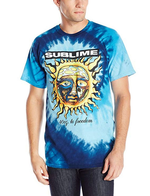 Sublime 40oz To Freedom Tie Dye T-Shirt