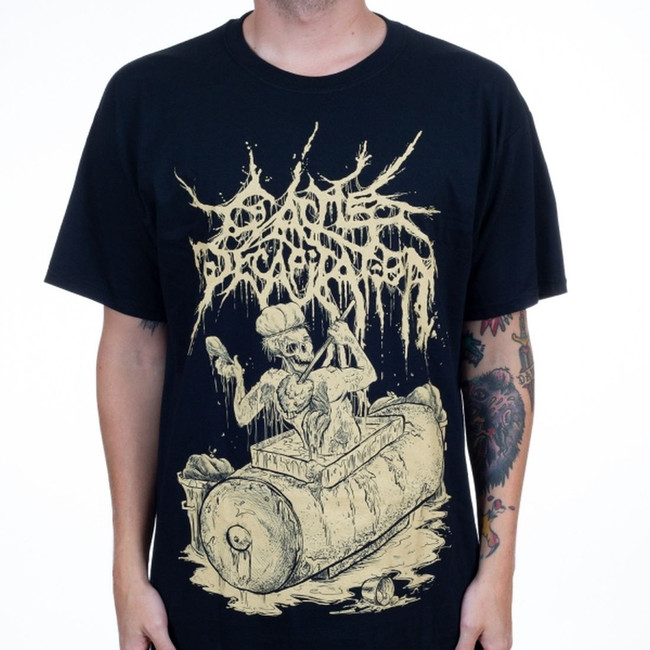Cattle Decapitation Bathing In A Grease Disposal Unit T-Shirt