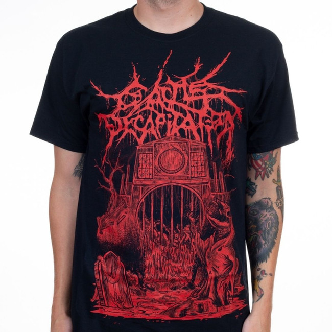 Cattle Decapitation Regret And The Grave T-Shirt