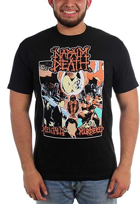 Napalm Death Mentally Murdered T-Shirt