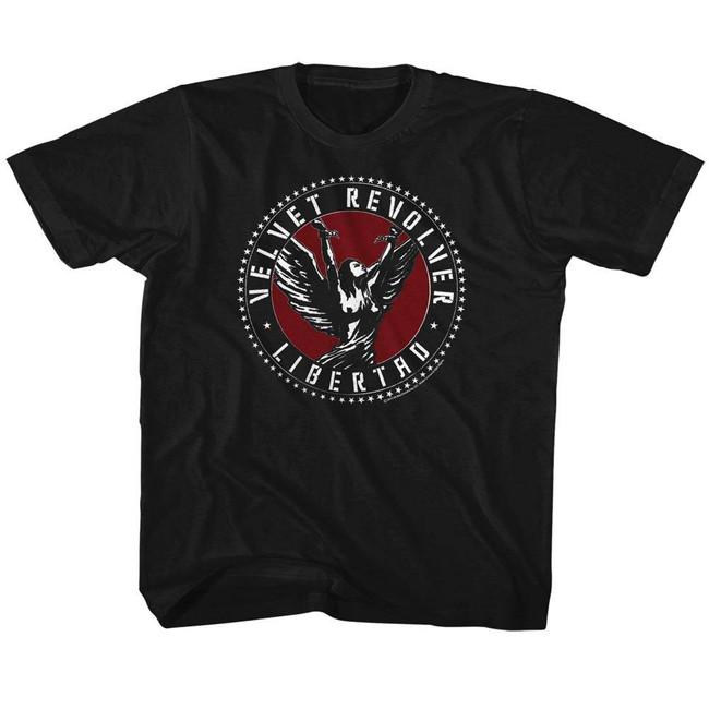 Velvet Revolver Libertad Black Children's T-Shirt