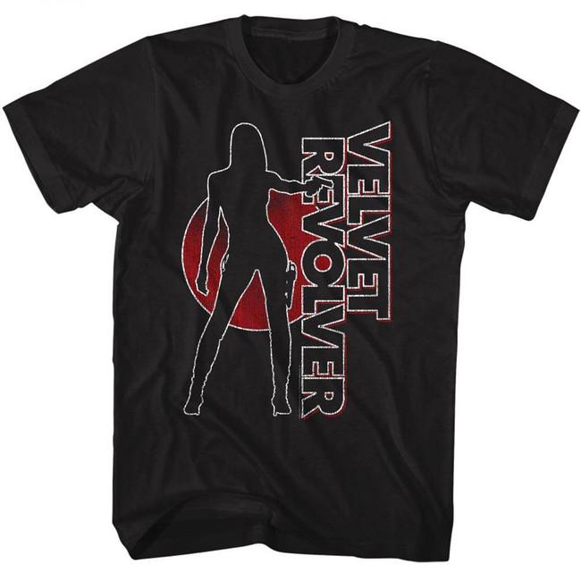 Velvet Revolver Velvet Revolver Black Adult T-Shirt
