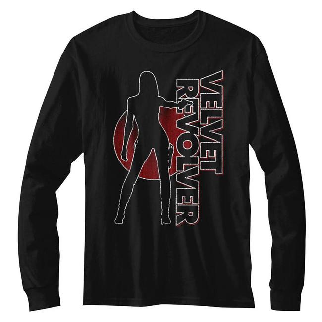 Velvet Revolver VelvetRevolver Black Adult Long Sleeve T-Shirt