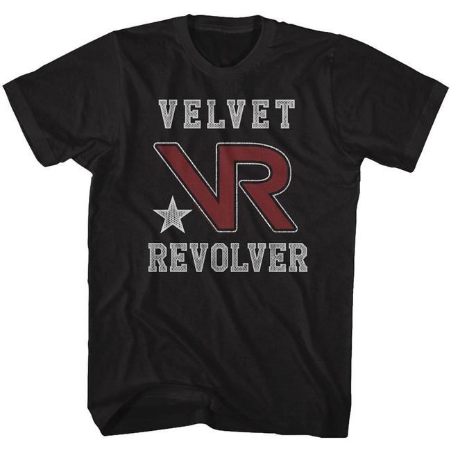 Velvet Revolver Team Revolver Black Adult T-Shirt