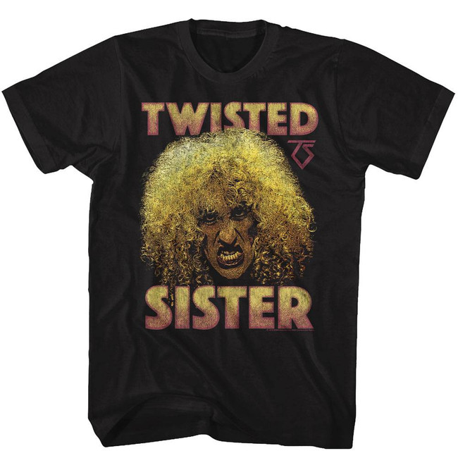 Twisted Sister Dee Black Adult T-Shirt