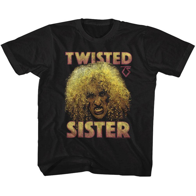 Twisted Sister Dee Black Toddler T-Shirt