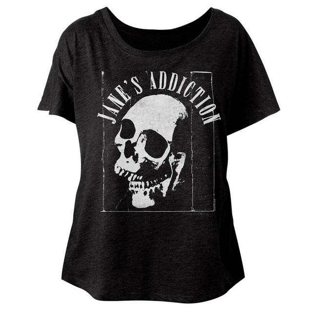 Jane's Addiction Jaw Breaker Vintage Black Junior Women's Dolman T-Shirt
