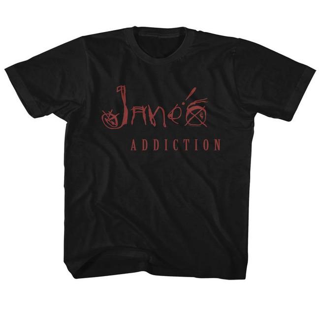 Jane's Addiction Black Children's T-Shirt