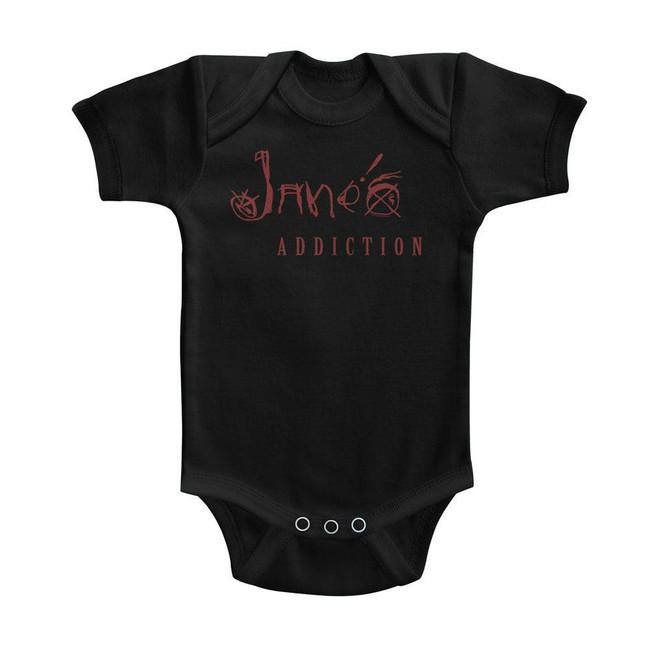 Jane's Addiction Black Baby Onesie T-Shirt