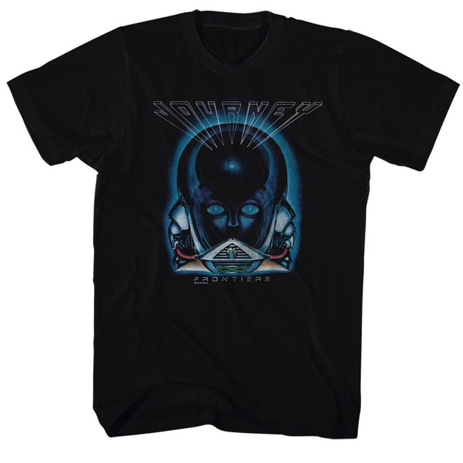Journey Frontiers Black Adult T-Shirt