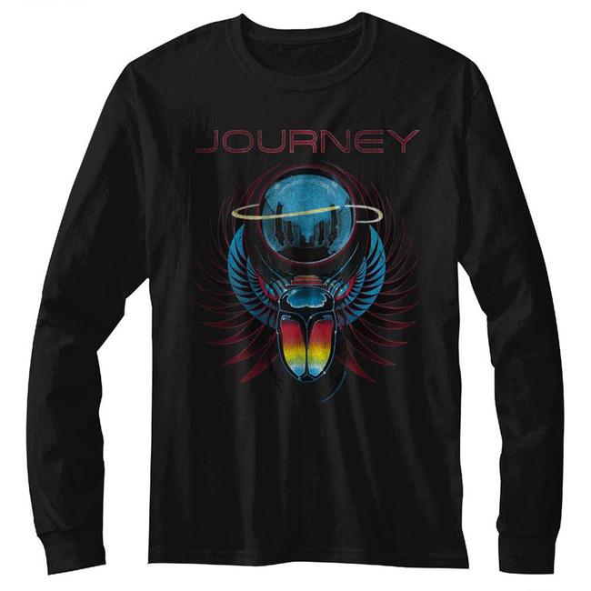 Journey Beetle Planet Black Adult T-Shirt
