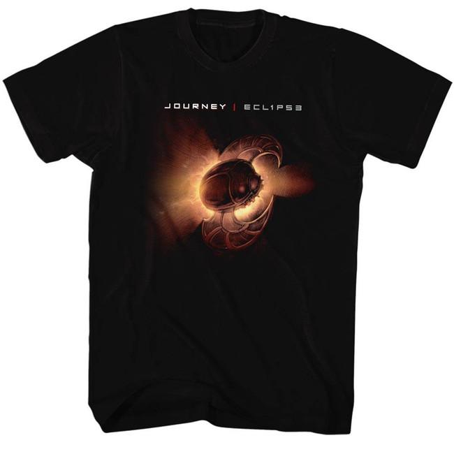 Journey Eclipse Black Adult T-Shirt