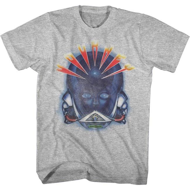 Journey Alien Head Heather Adult T-Shirt