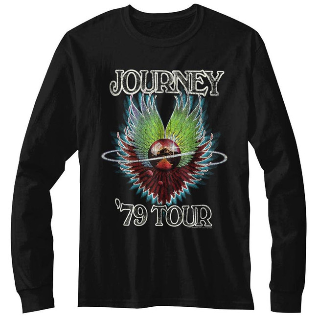 Journey 1979 Black Adult T-Shirt