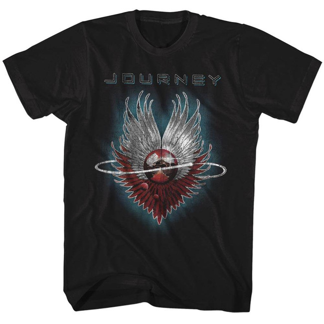 Journey Design Black Adult T-Shirt