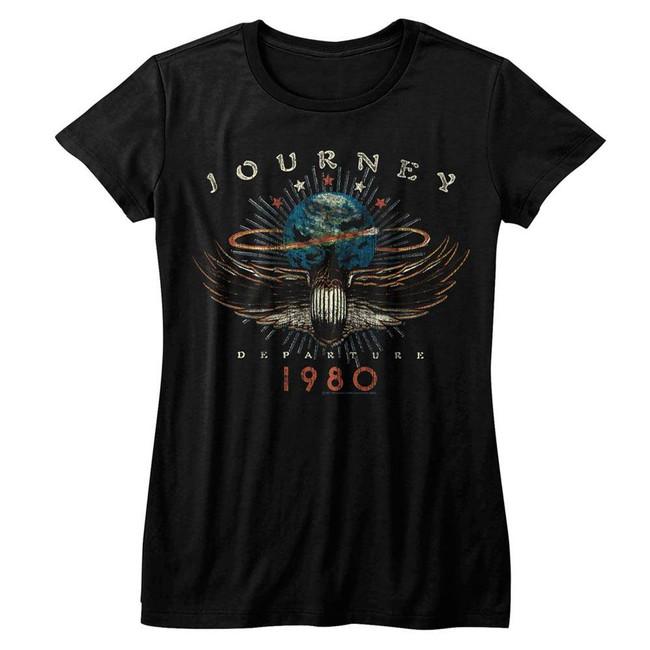 Journey 1980 Black Junior Women's T-Shirt