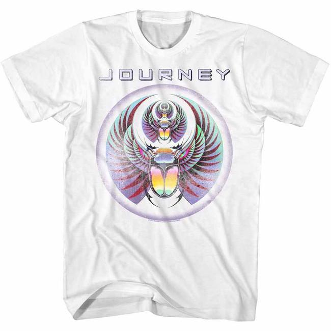 Journey White Adult T-Shirt