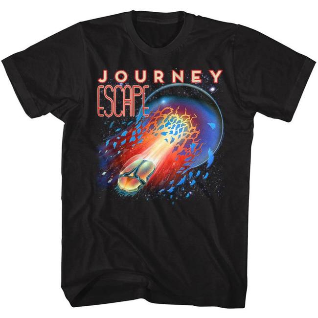 Journey Escape Black Adult T-Shirt