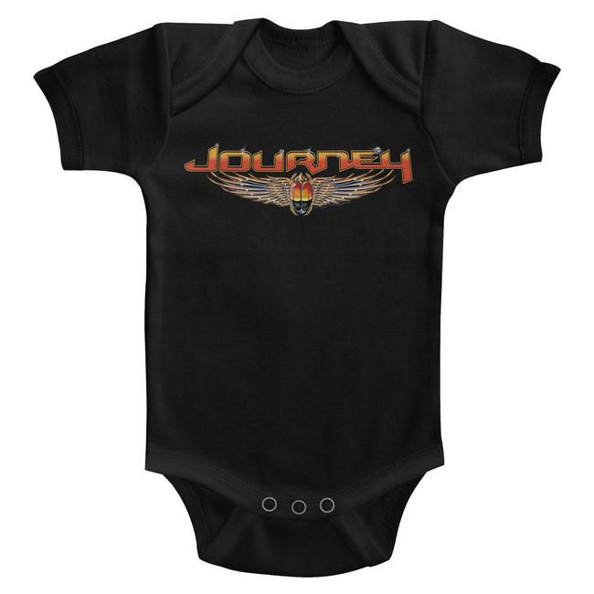Journey Black Infant Baby Onesie