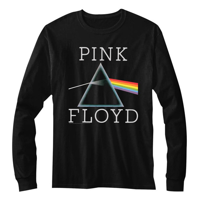Pink Floyd Classic Prism Black Adult T-Shirt