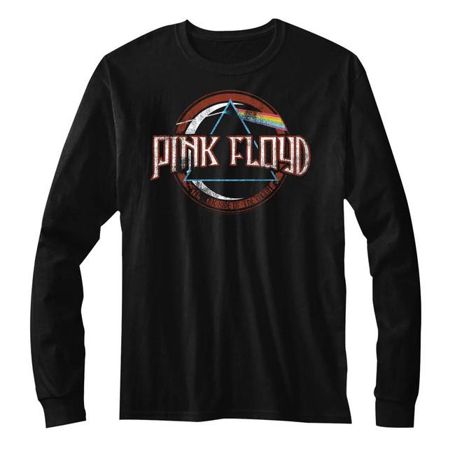 Pink Floyd Black Adult Long Sleeve T-Shirt