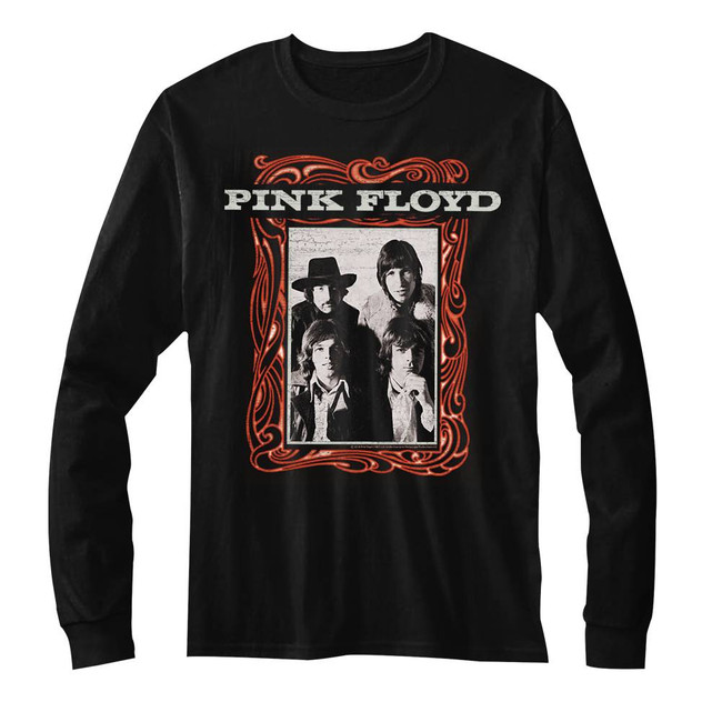 Pink Floyd Classic Point Me To The Sky Black Adult T-Shirt