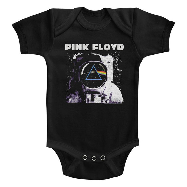 Pink Floyd Classic Prism Black Infant Baby Onesie T-Shirt
