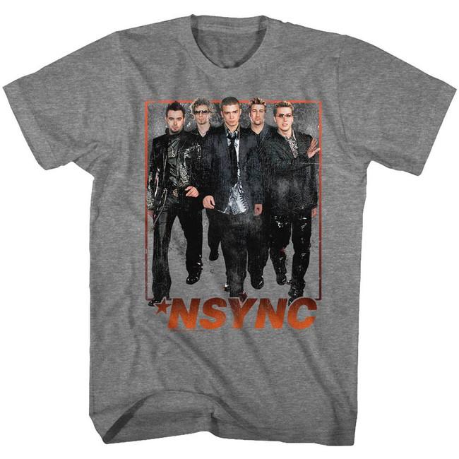 NSYNC Struttin' Heather Adult T-Shirt