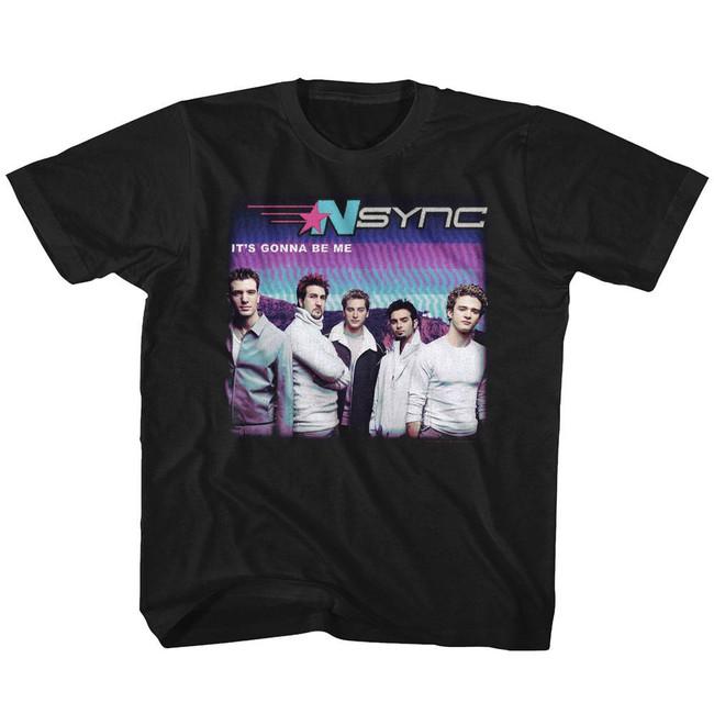 NSYNC It's Gonna Be Me Black Youth T-Shirt
