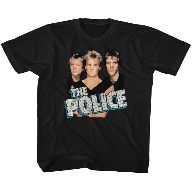 The Police Boys 'N' Blue Black Toddler T-Shirt