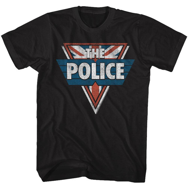 The Police Black Adult T-Shirt