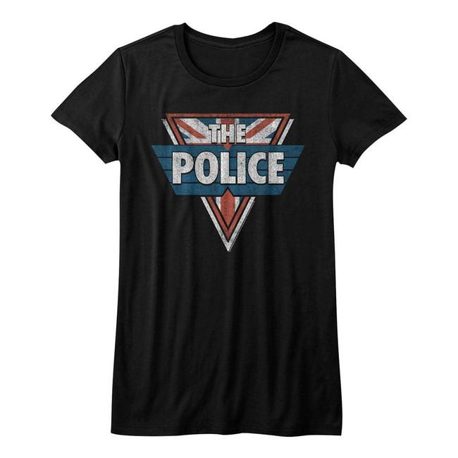 The Police Black Junior Women's T-Shirt