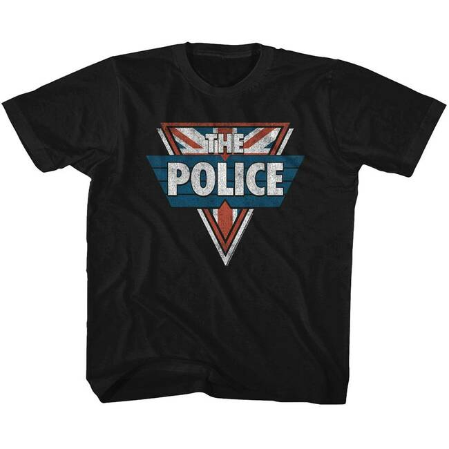 The Police Black Toddler T-Shirt