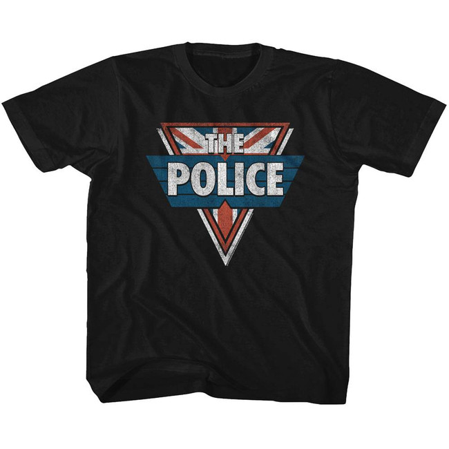 The Police Black Youth T-Shirt