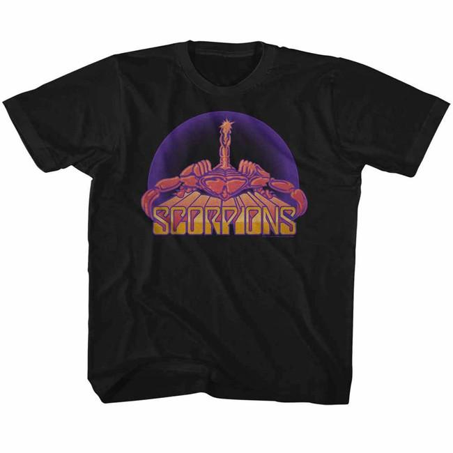 Scorpions Bright Scorpion Black Toddler T-Shirt