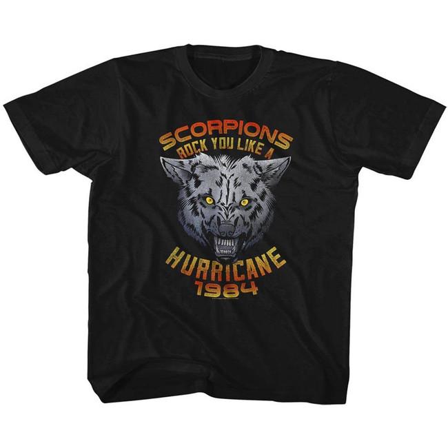 Scorpions Wolf Black Children's T-Shirt