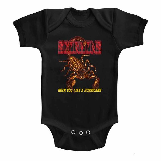 Scorpions Irl Black Infant Baby Onesie