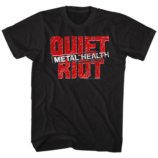 Quiet Riot Black Adult T-Shirt