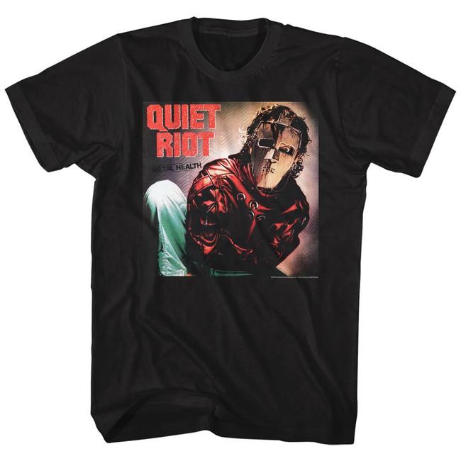 Quiet Riot Album Black Adult T-Shirt