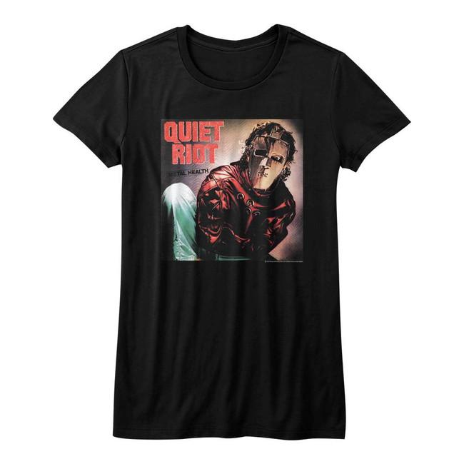 Quiet Riot Album Black Junior Women's T-Shirt