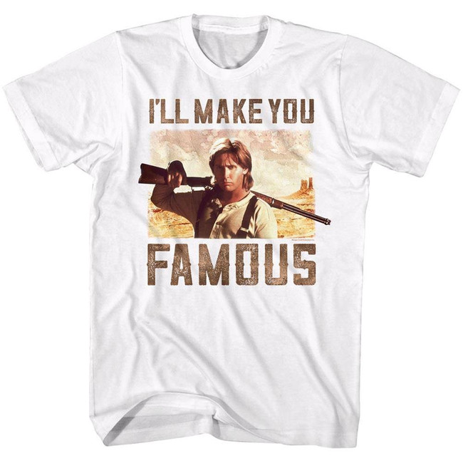 Young Guns Famous White Adult T-Shirt